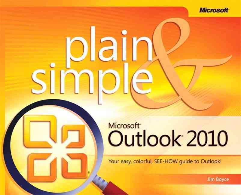 Microsoft Outlook Plain & Simple 2010 By Boyce, Jim